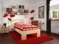 cubo drveni krevet samac 200x90cm